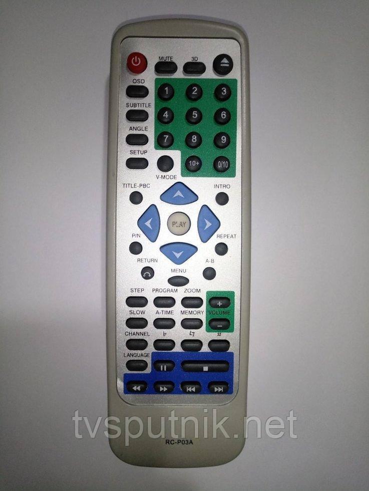 Пульт Rolsen RC-P03A (DVD)