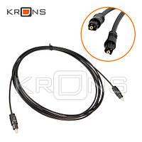 Оптический аудио кабель Toslink 2м