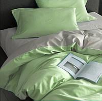 Комплект постельного белья из 100% сатина Зеленый микс