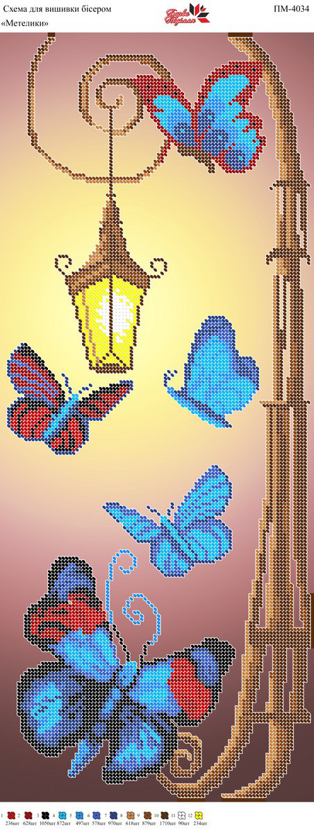 Панно ПМ 4034 Бабочки