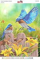 Вышивка бисером СВ 3081 Птицы  формат А3