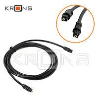 Оптический аудио кабель Toslink 5м