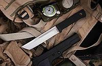 Американский Танто нескладной тактический нож для охоты рыбалки и туризма  длина 27.5 см рукоять резина