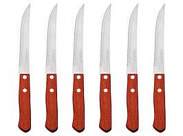 Набор ножей для стейка Peterhof PH-22431 деревянная ручка