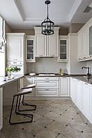 Кухня с переходом в оконный проем. кухня в английском стиле белая кухня