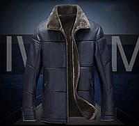 Дубленка молодежная,куртка кожаная зимняя с натуральной кожи и овчины.