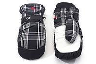 Перчатки Kombi SPOOKY WG мужские, черные в клеточку, размер L