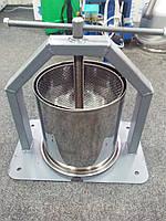 Пресс для сока ручной 15 л (нержавейка)