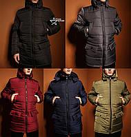 Мужская зимняя куртка парка в стиле Nike 4 цвета в наличии, цена 935 ... 097ab3f916c