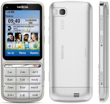 342d6c14ff8ee Мобильный телефон Nokia c3-01 Silver Оригинал - In My Smart в Виннице