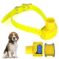 Бипер для охотничьих собак Janpet JPD100 водонепроницаемый желтый