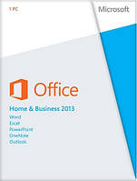 Microsoft Office 2013 Home and Business, 32/64-bit, Rus, DVD (T5D-01761)