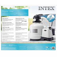 Песочный фильтр-насос 26652 Intex предназначен для механической очистки воды в бассейне.