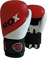 Боксерские перчатки RDX Authentic Rex Leather Red, фото 1