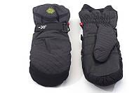 Перчатки Kombi SPOOZE, мужские, черные в полоску, размер S
