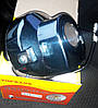 Фара мопед Альфа Дельта круглая хром LED-6 (светодиодная 6 диодов 18W), фото 2
