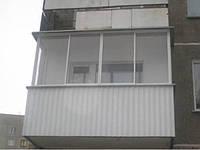 Демонтаж, расширения площади балконов, ремонт, остекления, Харьков.