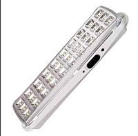EL115 аккум. светильник 30LED белый DC (205*65*30мм), фото 1