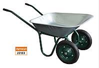 Тачка садовая двухколесная 70л/120 кг колесо 330мм