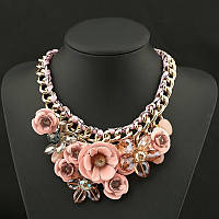 Женское ожерелье Цветок