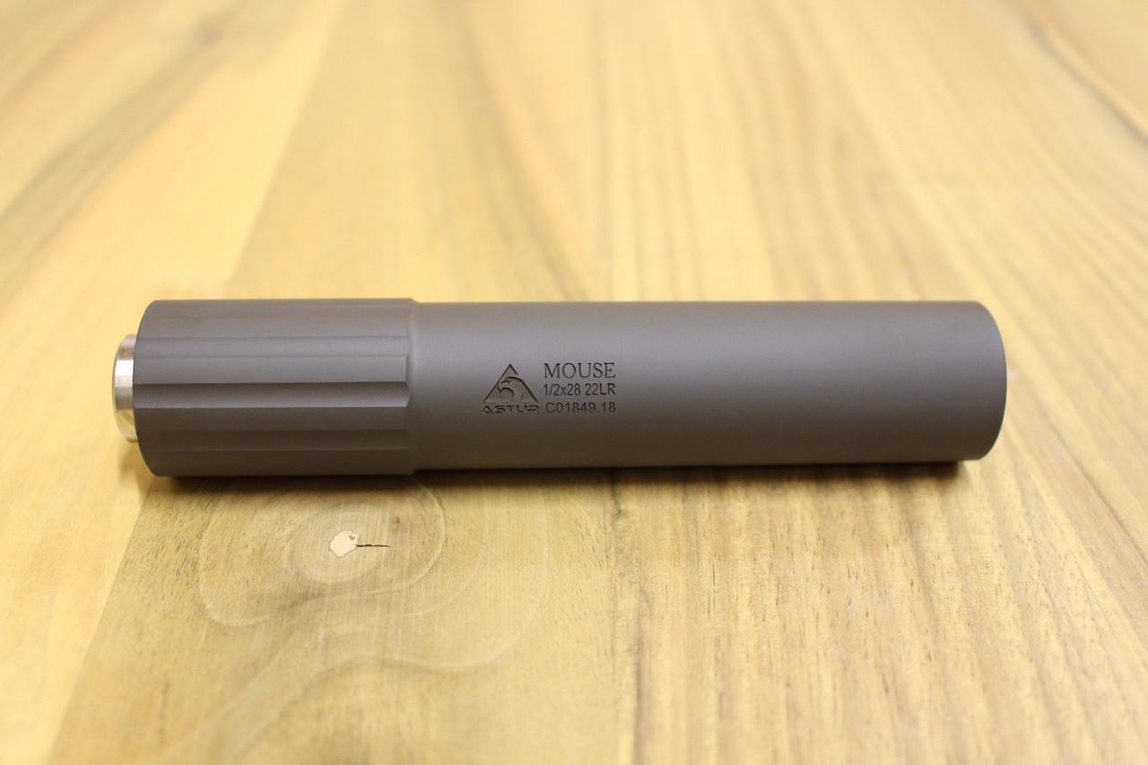 Саундмодератор 22LR 1/2x28 Astur Mouse для мелкокалиберных карабинов