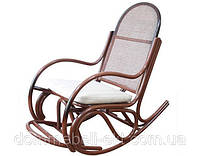 Кресло качалка Бриз 1 из ротанга