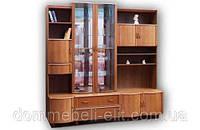Шкаф в гостиную комбинированный С