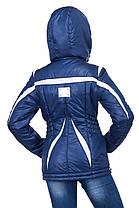 Красивая куртка на девочку осень газета, фото 3