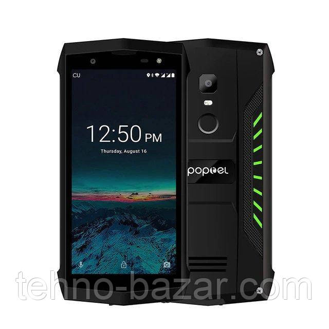 Защищенный смартфон Poptel P8 2/16gb Green 6'' MTK6739  3750 мАч