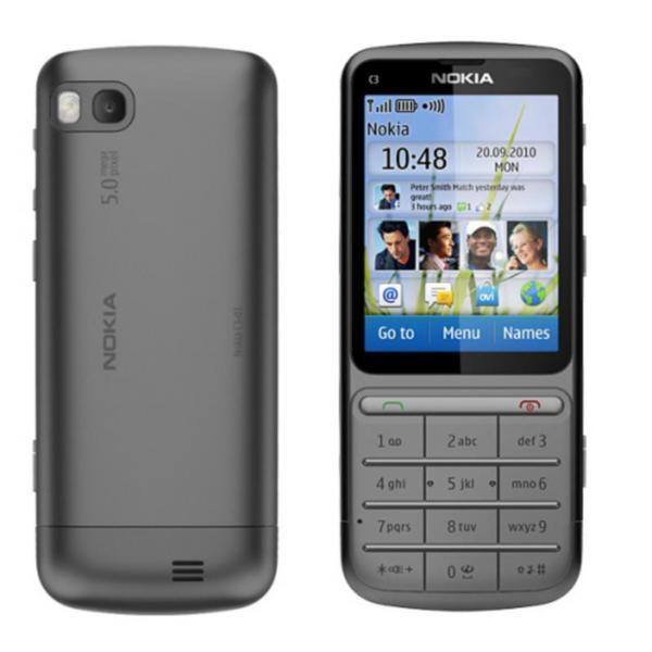 Мобильный телефон Nokia c3-01 Warm Grey Оригинал