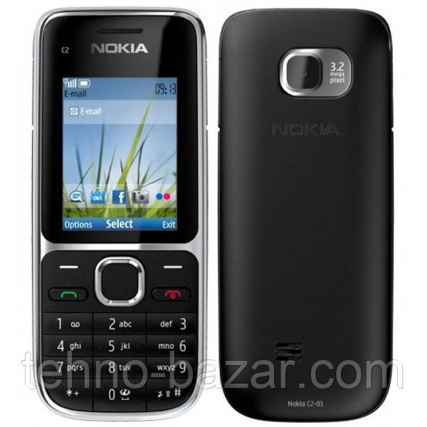 Мобильный телефон Nokia c2-01 Black Оригинал
