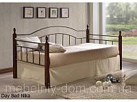 Кровать кованная, железная Ника (Nika)
