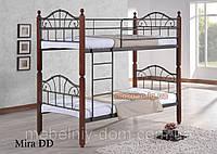 Кровать двухъярусная кованная Мира ДД (DD Mira)