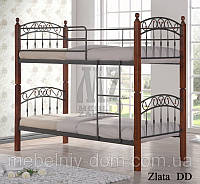 Кровать двухъярусная кованная Злата Н ДД (DD  Zlata N)