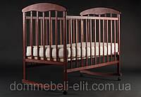 Кровать Наталка ольха тёмная