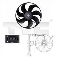 Вентилятор радиатора Skoda Octavia Tour, Fabia 6X0959455F