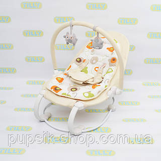 Шезлонг детский BT-BB-0004 BEIGE