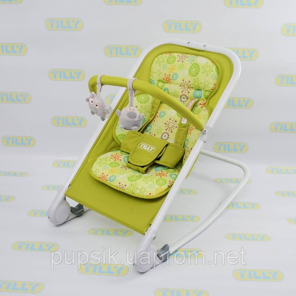 Шезлонг детский BT-BB-0005 GREEN
