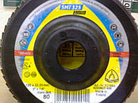 SMT 325 / SMT 619  Klingspor р60 круг  шлифовальный лепестковый тарельчатый по металлу