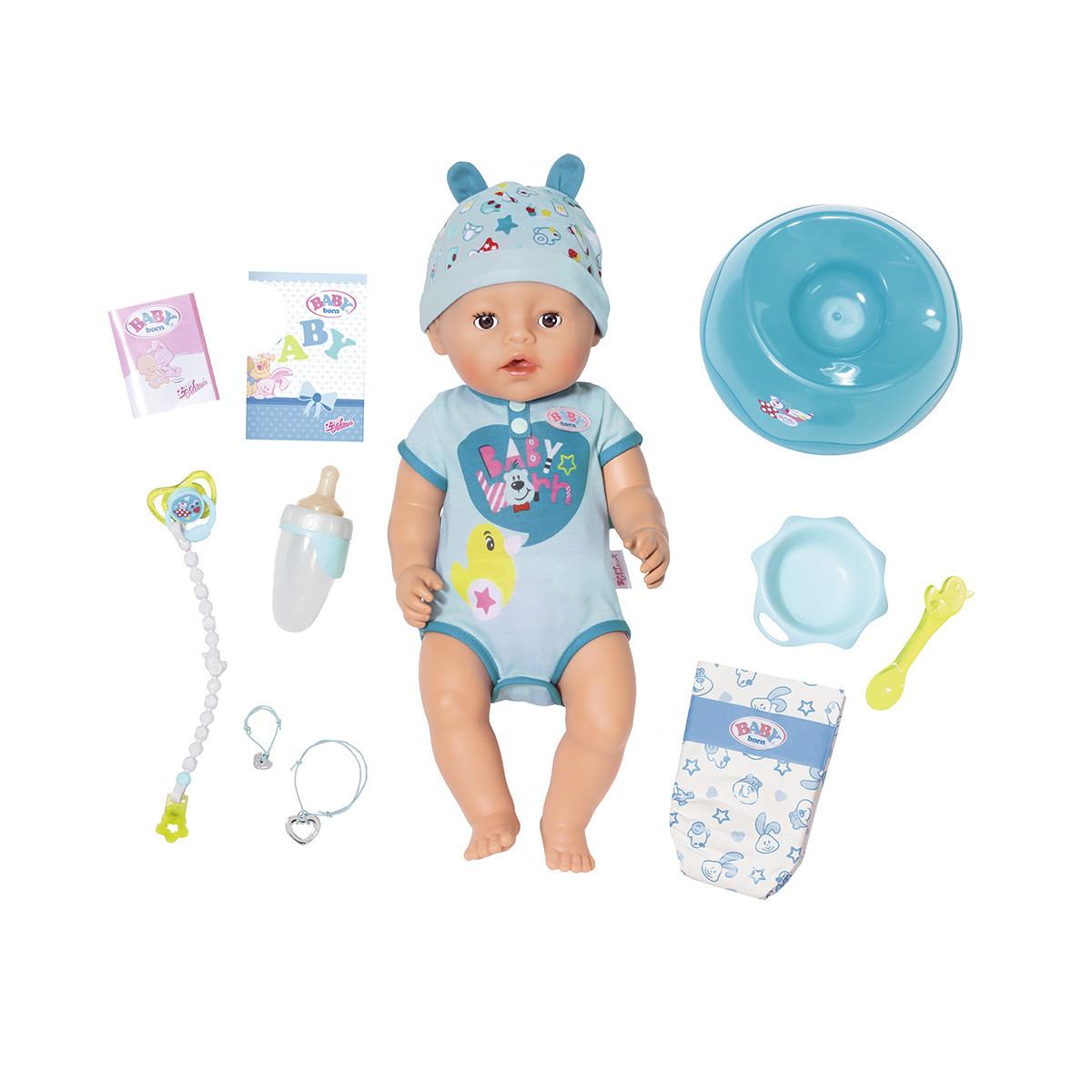 Пупс Baby Born - Беби Борн Нежные объятия. Очаровательный малыш (824375)