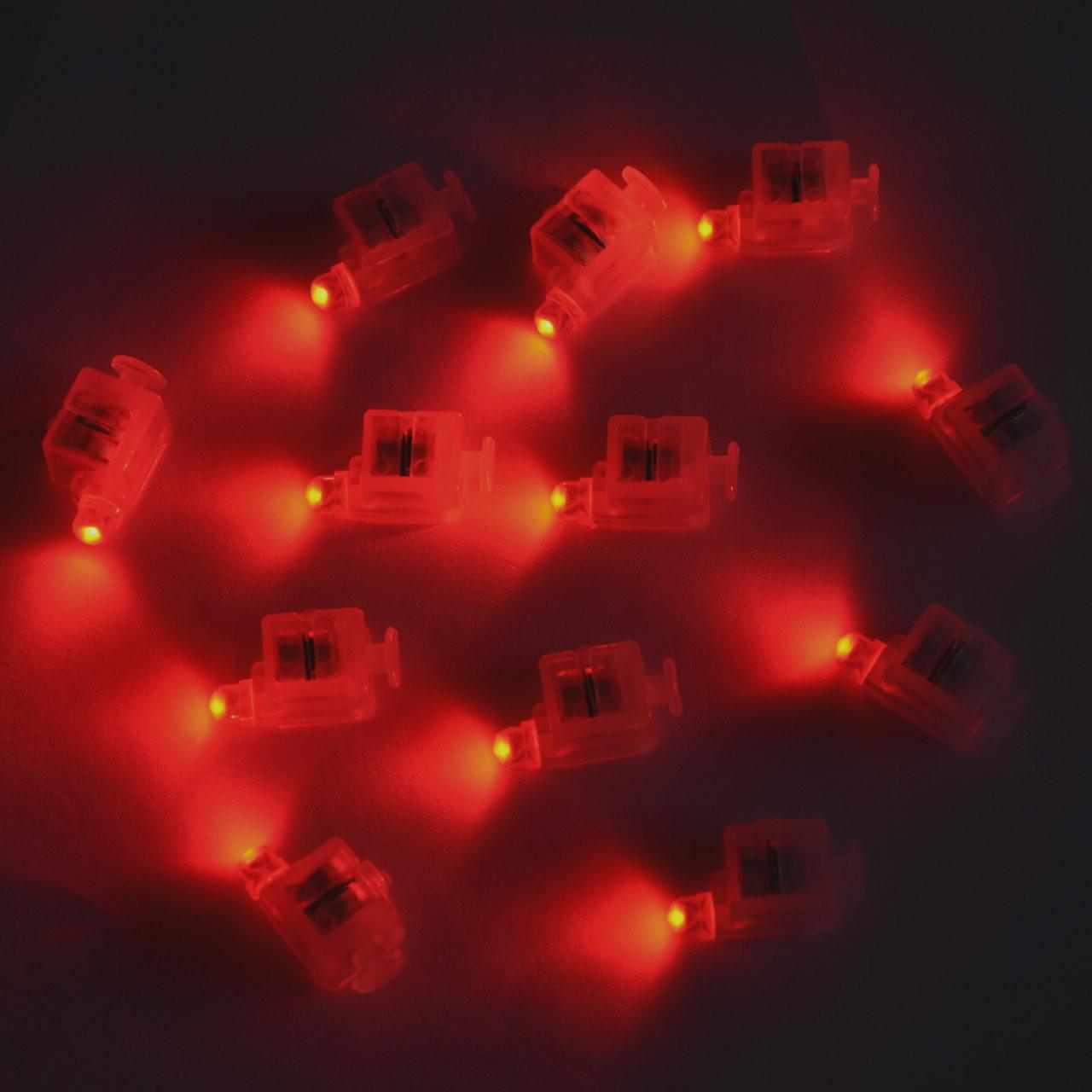 Светодиод для шаров SoFun кубик красный цена за 1 шт