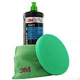 Абразивная полировальная  паста 3M™ 50417 Fast Cut Plus. Зеленый колпачок, фото 2