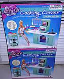 Кукольная мебель Глория Gloria 2816 современная кухня Барби, фото 4