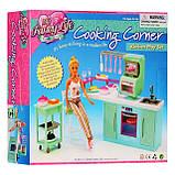 Кукольная мебель Глория Gloria 2816 современная кухня Барби, фото 5