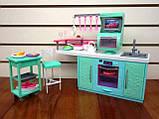 Кукольная мебель Глория Gloria 2816 современная кухня Барби, фото 2