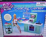 Кукольная мебель Глория Gloria 2816 современная кухня Барби, фото 3