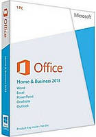 Microsoft Office 2013 Home and Business, 32/64-bit, Rus карточка