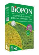 """Добриво гранульоване """"Biopon"""" для газонів проти пожовтіння 1кг"""