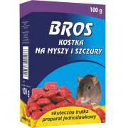 """Родентицидний засіб 'BROS Брикети від мишей і пацюків"""" 100г, фото 2"""