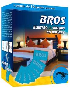 """Інсектицидний засіб """"BROS Електрофумігатор+ 10 пластин від комарів """""""